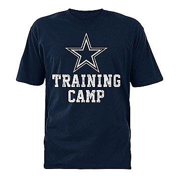 Dallas Cowboys Mens 2021 Training Camp Logo T-Shirt