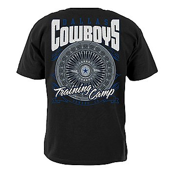 Dallas Cowboys Mens 2021 Training Camp Spinner T-Shirt
