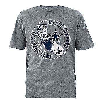 Dallas Cowboys Mens 2021 Training Camp Cali Bear Tee