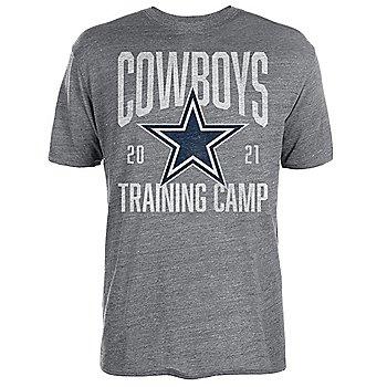 Dallas Cowboys Mens 2021 Training Camp Banner Tee