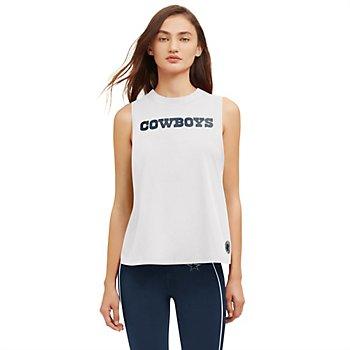 Dallas Cowboys DKNY Sport Womens Mia Tank