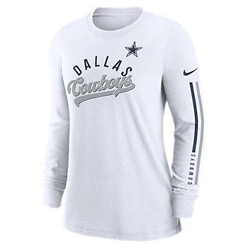 Dallas Cowboys Nike Womens Impact Long Sleeve Tee