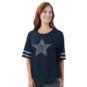 Dallas Cowboys Womens Blitz Short Sleeve Tee