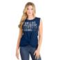 Dallas Cowboys New Era Womens Twist Muscle Tank
