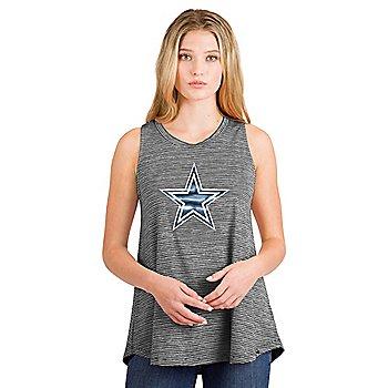 Dallas Cowboys New Era Womens Space Dye Muscle Tank
