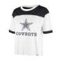 Dallas Cowboys '47 Brand Womens Billie Crop Tee