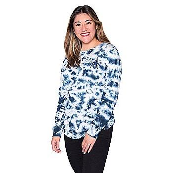 Dallas Cowboys New Era Womens Tie Dye Long Sleeve Tee