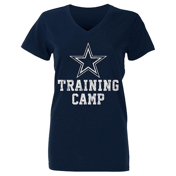 Dallas Cowboys Womens 2021 Training Camp Logo Tee