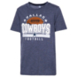 Dallas Cowboys Kids Playoff Tri-blend Short Sleeve Tee
