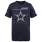Dallas Cowboys Nike Kids Legend Sideline Tee