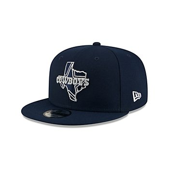Dallas Cowboys New Era Mens Texas 9Fifty Hat