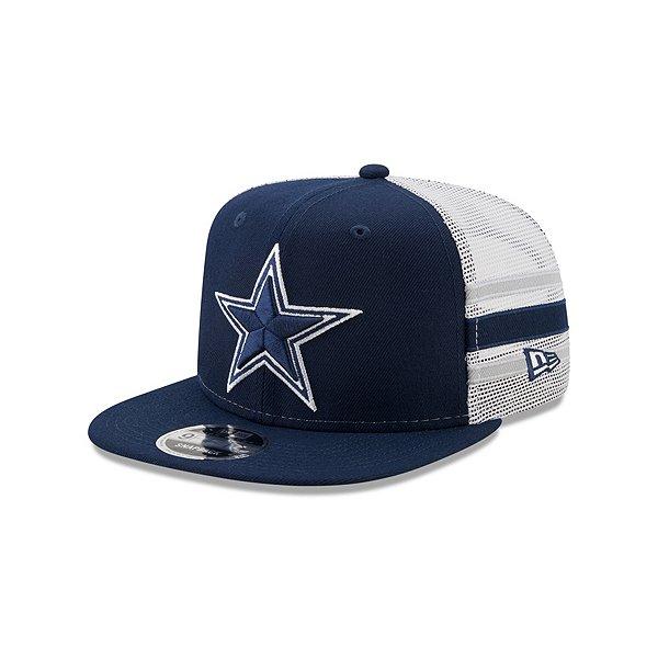 Dallas Cowboys New Era Mens Stripe 9Fifty Hat