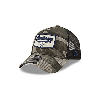 Dallas Cowboys New Era Mens Camo Patch Trucker 9Forty Hat