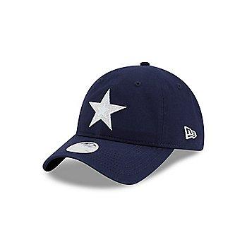 Dallas Cowboys New Era Womens Sparkle 9Twenty Hat