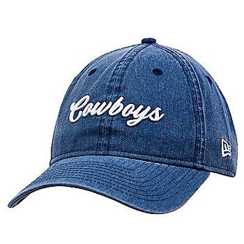 Dallas Cowboys New Era Womens Script 9Twenty Hat