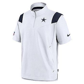 Dallas Cowboys Nike Mens Sideline Coaches Lightweight Short Sleeve Jacket