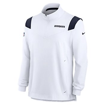 Dallas Cowboys Nike Mens Sideline Coaches Long Sleeve Lightweight Jacket