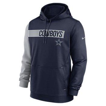 Dallas Cowboys Nike Mens Colorblock Hoodie