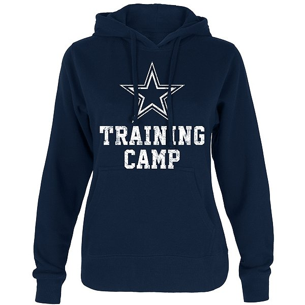 Dallas Cowboys Womens Training Camp Logo Hoodie