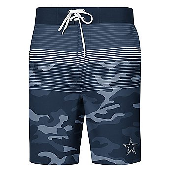 Dallas Cowboys Mens Wave Swim Trunks