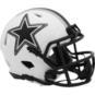 Dallas Cowboys Riddell Lunar Eclipse Speed Mini Helmet