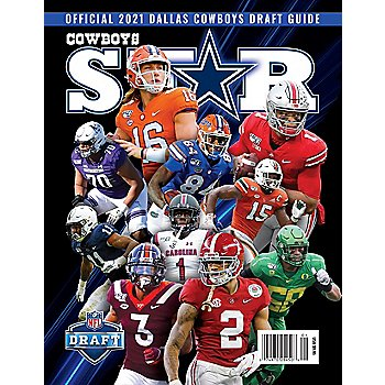 Dallas Cowboys Star Magazine Draft Preview 2021 Issue