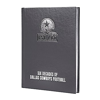 Dallas Cowboys 60th Anniversary Leather Coffe Table Book
