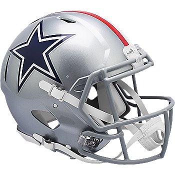 Dallas Cowboys Riddell Silver Speed Authentic Helmet