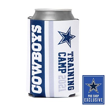 Dallas Cowboys 2021 Training Camp White Can Cooler
