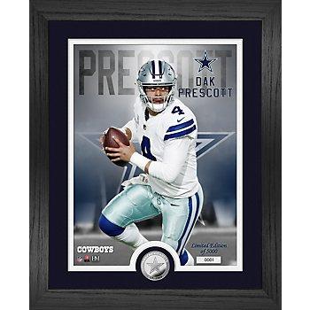 "Dallas Cowboys Dak Prescott 13"" x 16"" Limited Edition Photo Mint Frame"