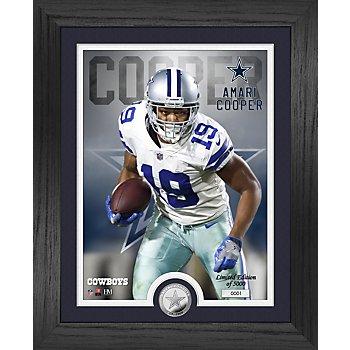 "Dallas Cowboys Amari Cooper 13"" x 16"" Limited Edition Photo Mint Frame"