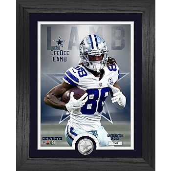 "Dallas Cowboys CeeDee Lamb 13"" x 16"" Limited Edition Photo Mint Frame"