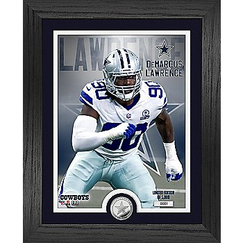 """Dallas Cowboys Demarcus Lawrence 13"""" x 16"""" Limited Edition Photo Mint Frame"""