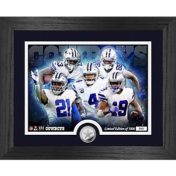 Dallas Cowboys Team Force Silver Mint Photo Frame