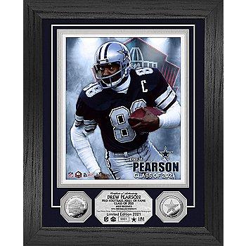 Dallas Cowboys Legend Drew Pearson Limited Edition HOF Photo Mint Frame