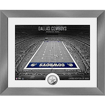 Dallas Cowboys Limited Edition Stadium Silver Coin MintPhoto Frame