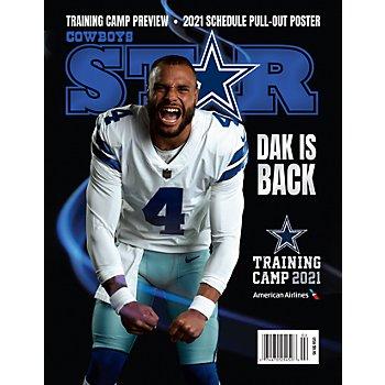 Dallas Cowboys Star Magazine Training Camp Preview 2021