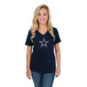Dallas Cowboys Womens Logo Premier T-Shirt