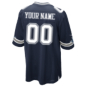 Dallas Cowboys Custom Nike Navy Game Replica Jersey 3XL-4XL