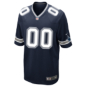 Dallas Cowboys Custom Nike Navy Game Replica Jersey 3XL-4XL