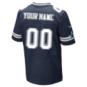 Dallas Cowboys Custom Nike Navy Elite Authentic Jersey