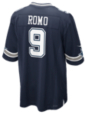 Dallas Cowboys Tony Romo #9 Nike Navy Game Replica Jersey 3XL-4XL