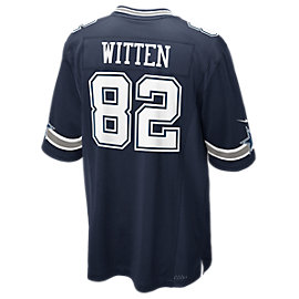 Dallas Cowboys Jason Witten #82 Nike Navy Game Replica Jersey