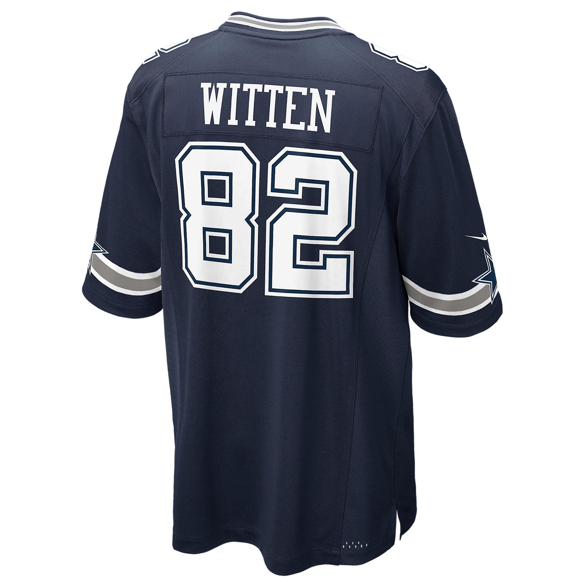Dallas Cowboys Jason Witten #82 Nike Game Replica Jersey 3XL-4XL ...