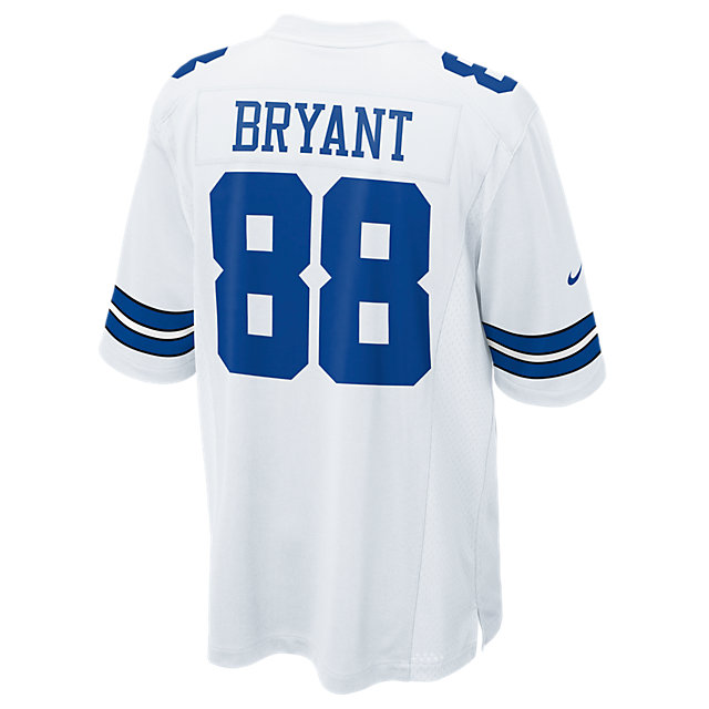 Dallas Cowboys Dez Bryant #88 Nike White Game Replica Jersey