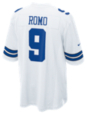 Dallas Cowboys Tony Romo #9 Nike White Game Replica Jersey 3XL-4XL