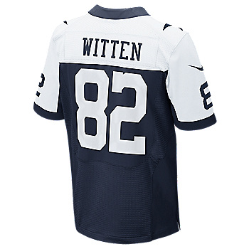 Dallas Cowboys Witten Nike Elite Authentic Throwback Jersey