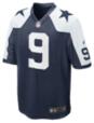 Dallas Cowboys Tony Romo #9 Nike Game Replica Throwback Jersey