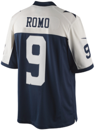 Dallas Cowboys Tony Romo #9 Nike Limited Throwback Jersey