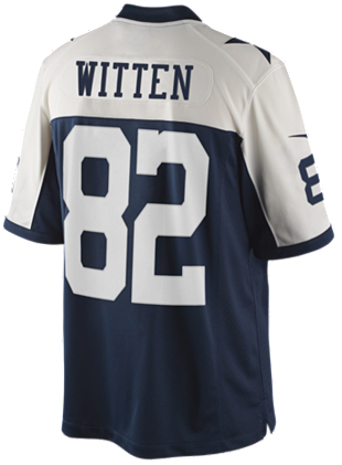 quality design 6ca1f 9d205 Dallas Cowboys Jason Witten #88 Nike Limited Throwback Jersey 3XL